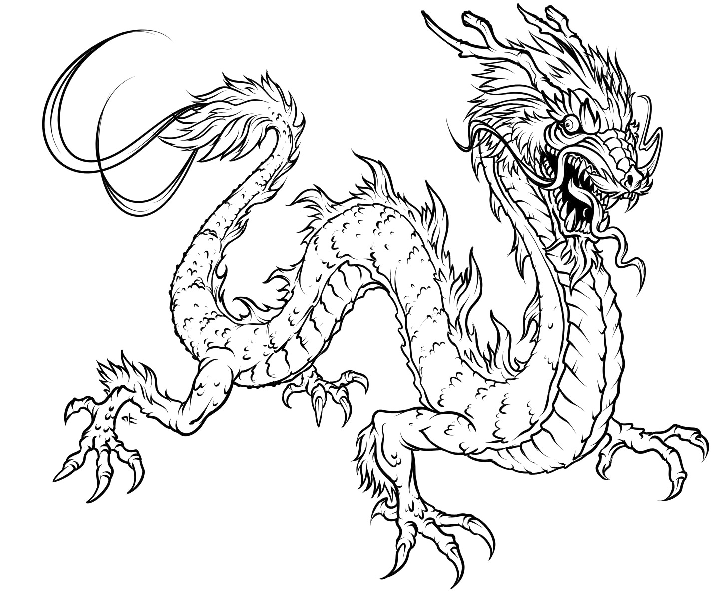 dragon pictures to color and print chinese dragon coloring pages to download and print for free color pictures print dragon and to