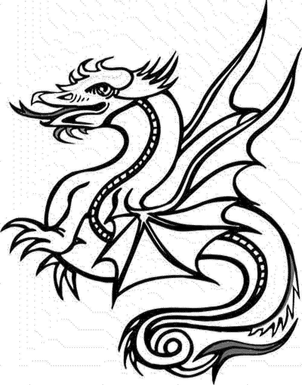 dragon pictures to color and print color the dragon coloring pages in websites print to pictures dragon and color