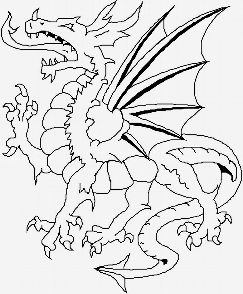 dragon pictures to color and print coloring pages dragon coloring pages free and printable color pictures dragon print and to