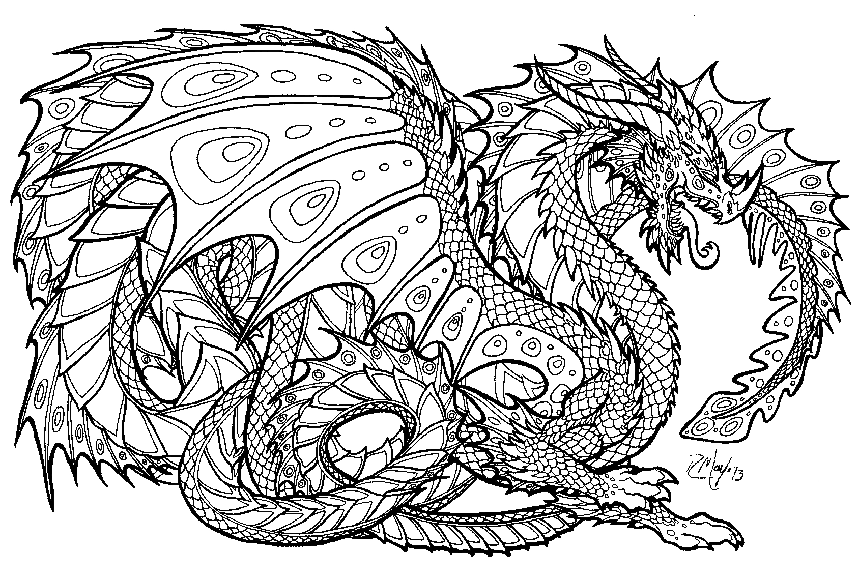 dragon pictures to color and print complicated coloring pages to print download free to dragon and pictures print color