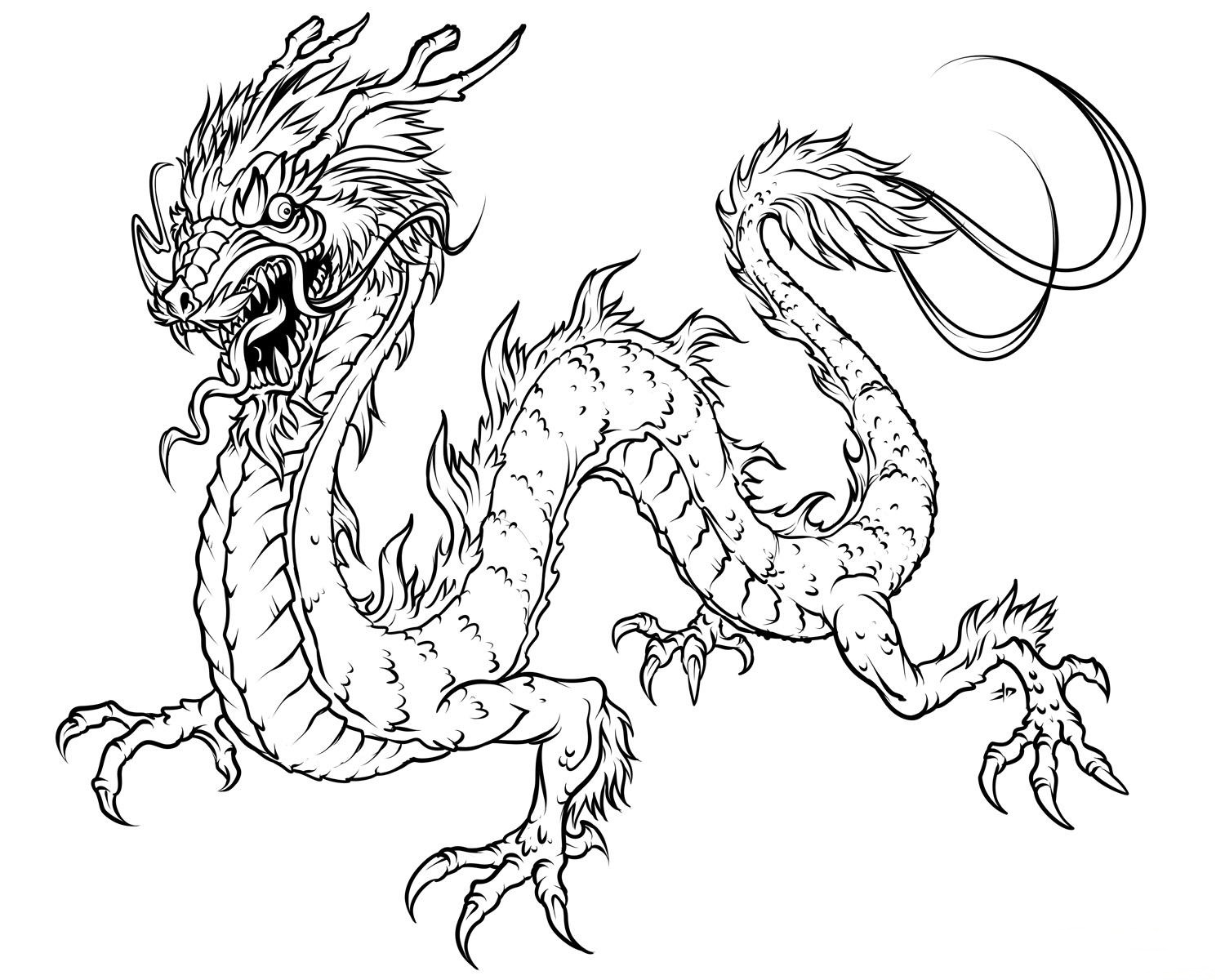 dragon pictures to color and print dragon coloring pages printable 01 dragon pictures print color and to