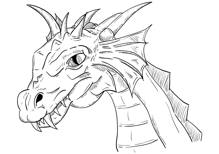 dragon pictures to color and print free printable dragon coloring pages for kids art hearty to pictures color and print dragon