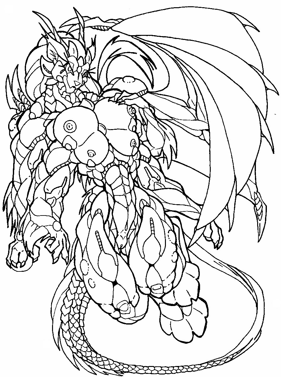 dragon wolf coloring pages 17 best images about coloring pages on etsy on pinterest pages dragon wolf coloring