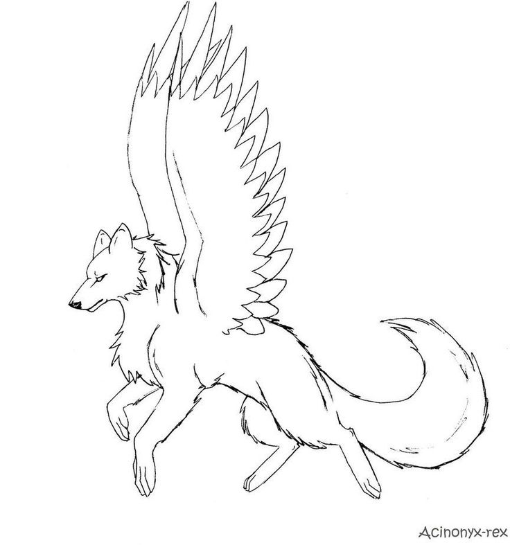 dragon wolf coloring pages feathered fantasy wolf pf by jaclynonacloudlines on deviantart coloring pages wolf dragon