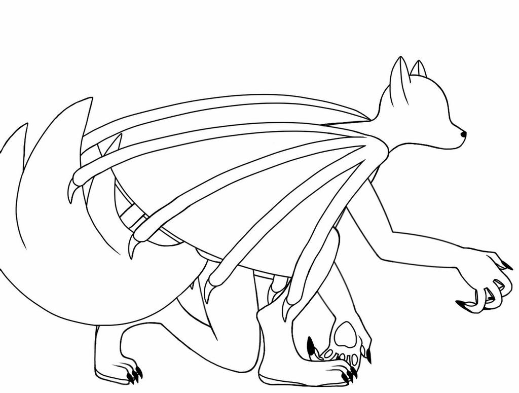 dragon wolf coloring pages pictures of winged animals wolves and cats winged wolf dragon wolf pages coloring