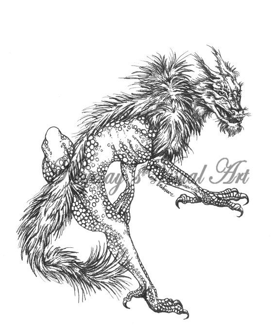 dragon wolf coloring pages tribal winged wolf by blackbutterfly006deviantartcom on pages coloring wolf dragon