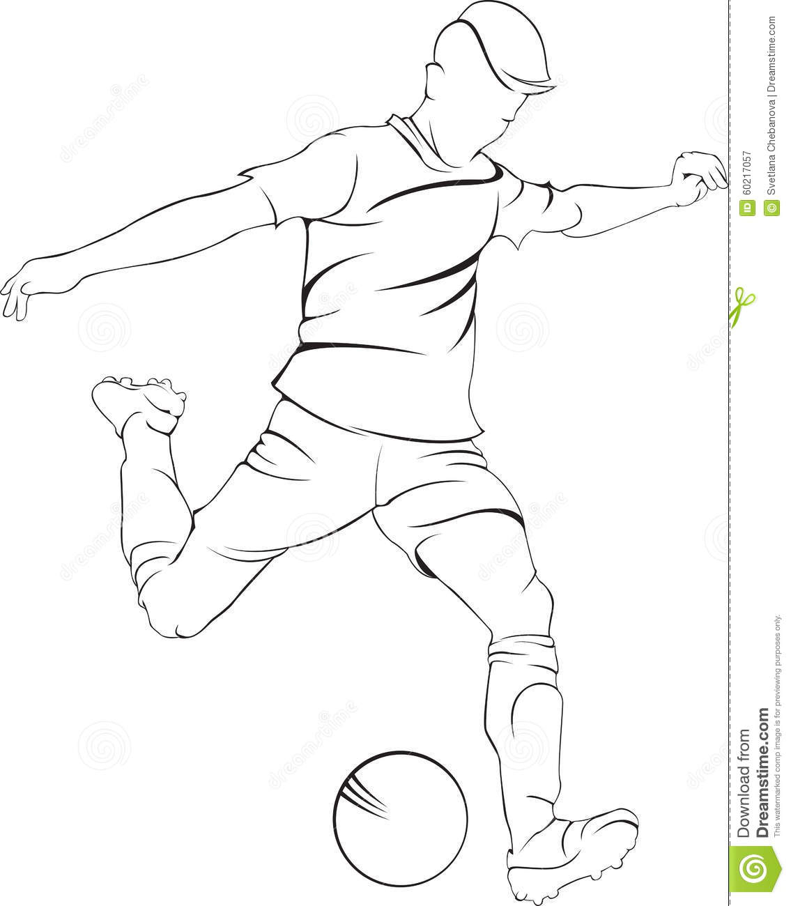 draw a football player football player drawing clipartsco player football a draw