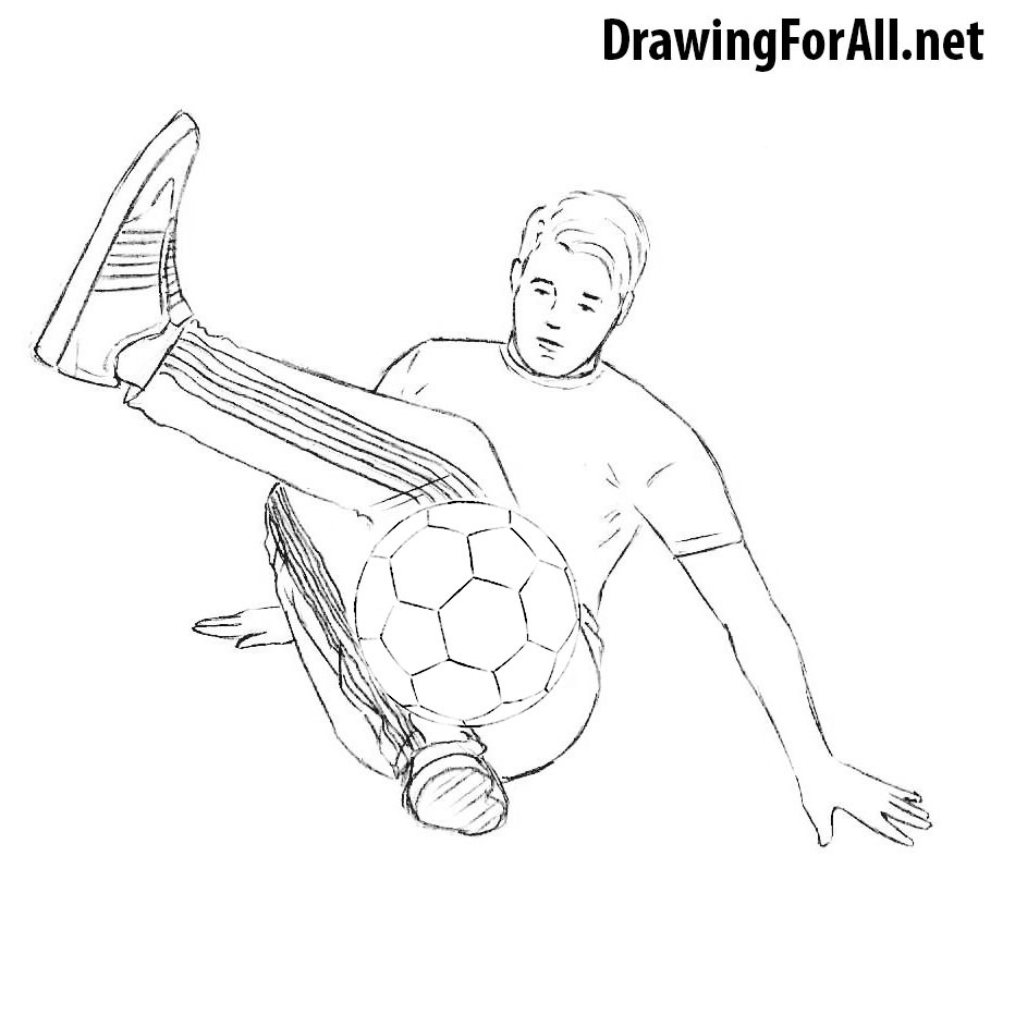 draw a football player football player line drawing at getdrawings free download football player draw a