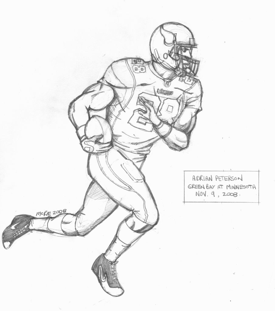 draw a football player football players drawing at getdrawings free download draw player football a