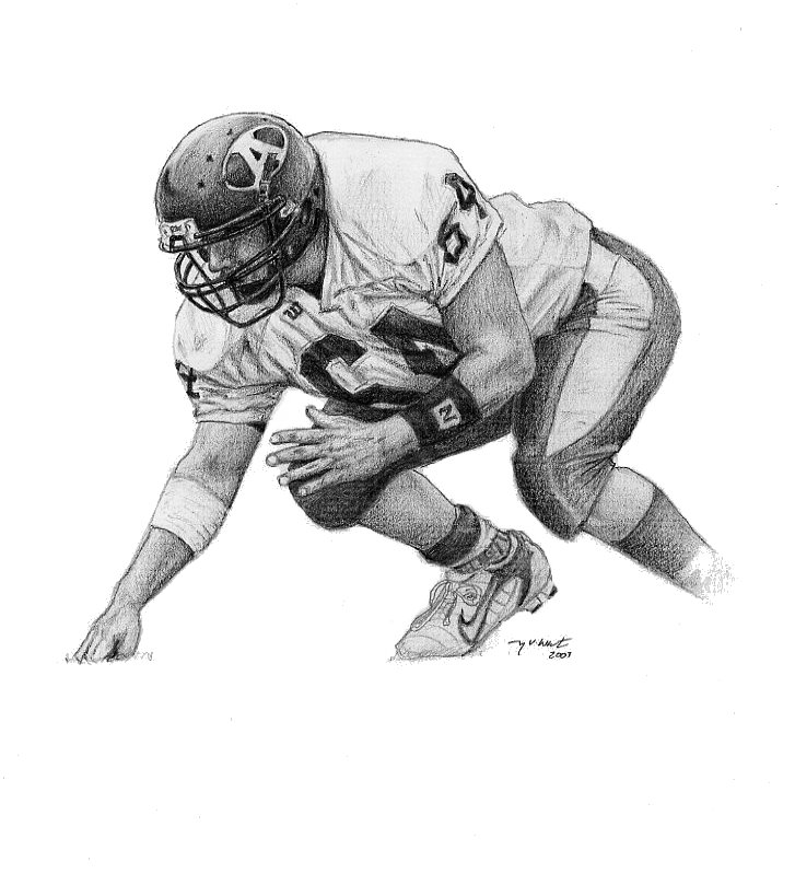 draw a football player how to draw a football player drawingforallnet a draw football player