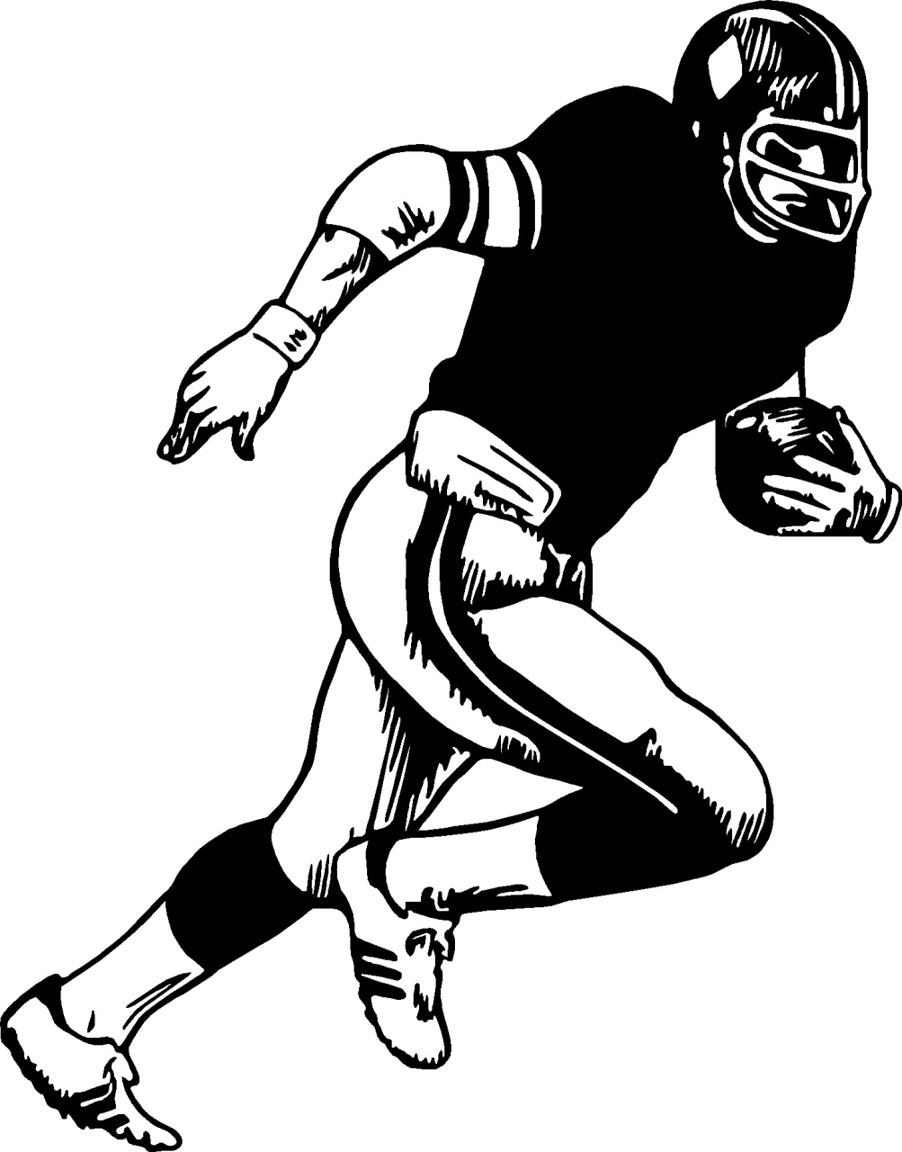 draw a football player the best free player drawing images download from 1977 football draw player a