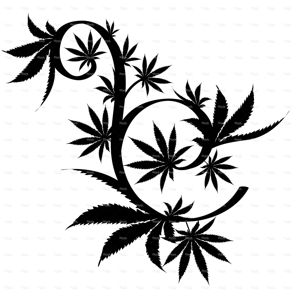 draw weed leaf pot leaf sketch at paintingvalleycom explore collection leaf weed draw