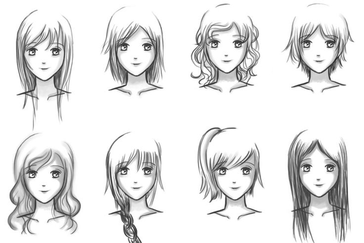 drawing anime girls how to draw female girl39s anime hairstyles anime manga drawing girls anime