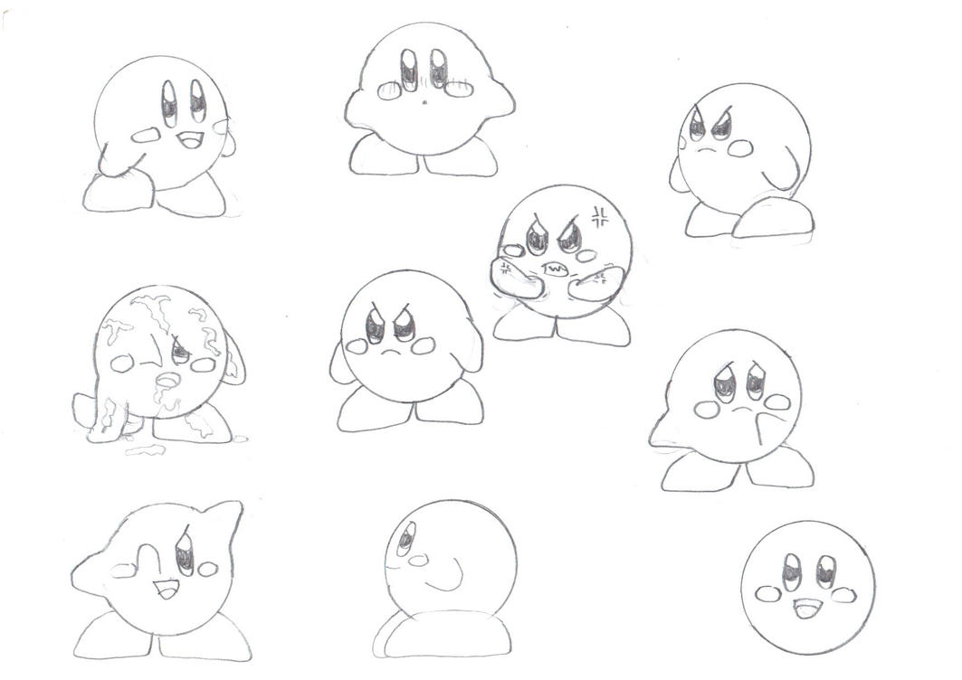 drawing kirby ask zero two and others im trying something out i drawing kirby