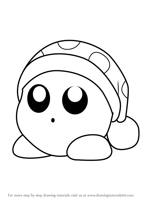 drawing kirby learn how to draw noddy from kirby kirby step by step drawing kirby
