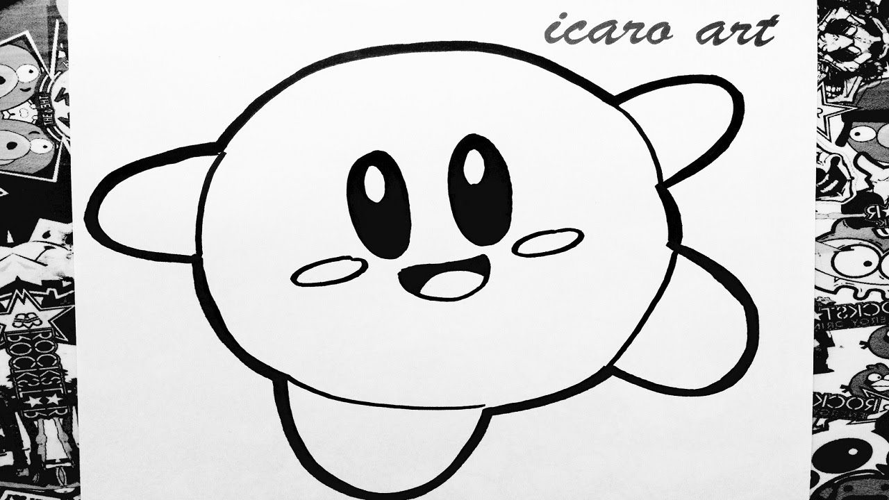 drawing kirby learn how to draw spikehead from kirby kirby step by drawing kirby