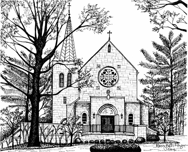 drawing of a church chapel drawing at getdrawings free download drawing a of church