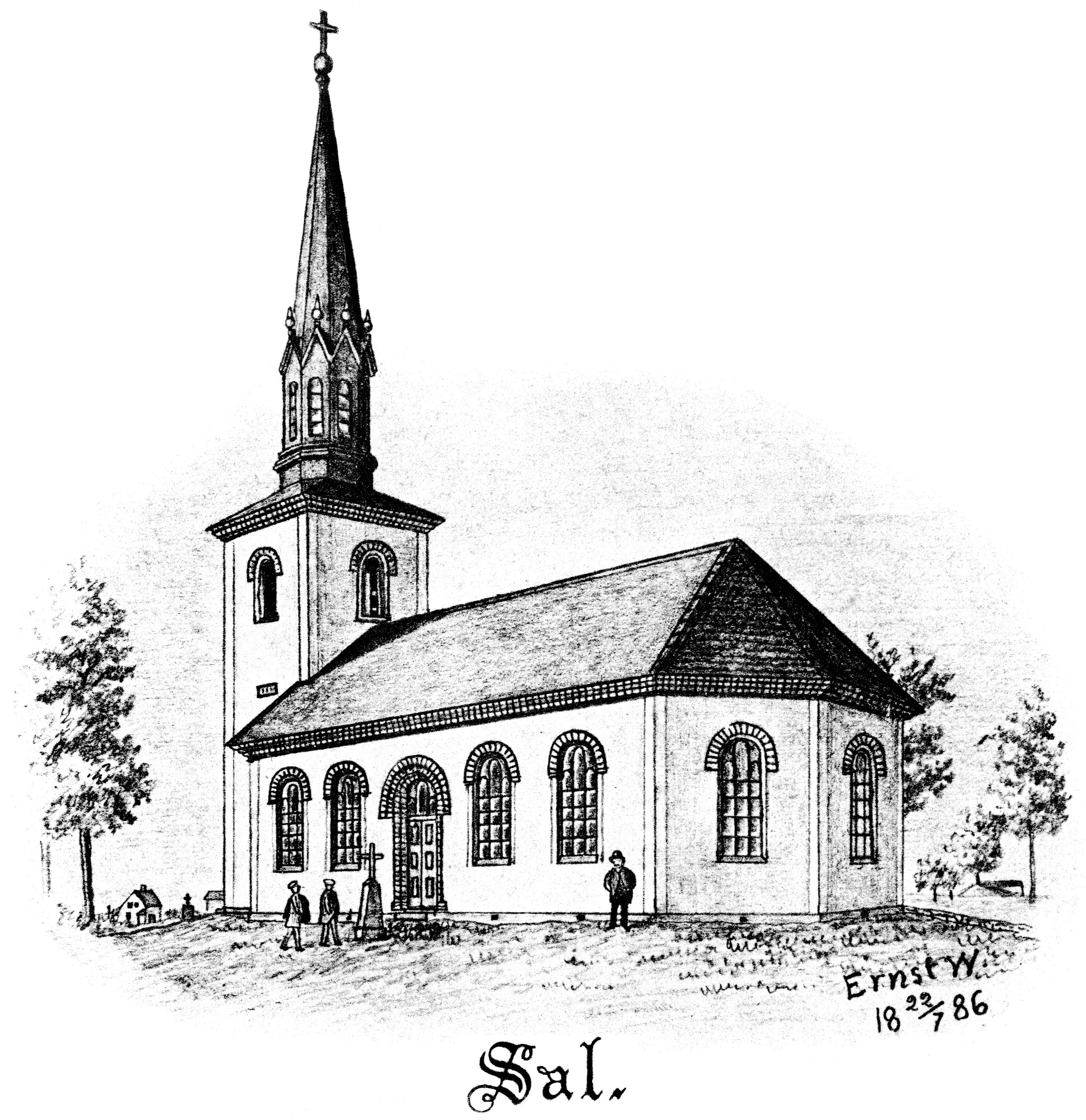 drawing of a church drawing of church building at paintingvalleycom explore of church drawing a