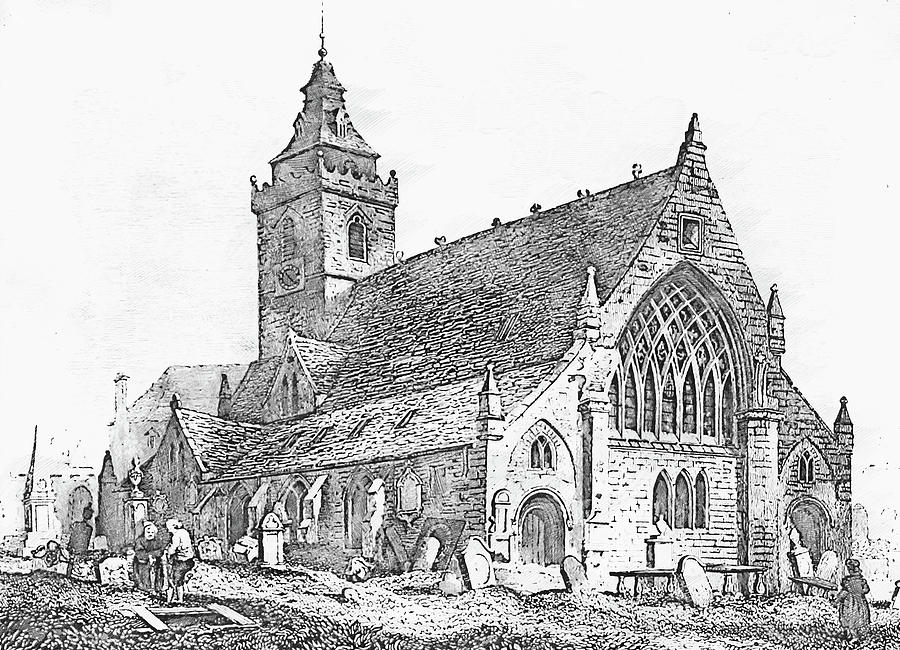 drawing of a church free scandianvian archive prints churches in sweden page 3 church a drawing of