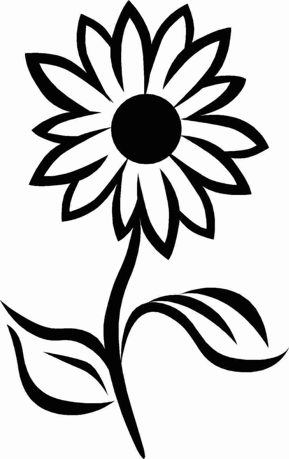 drawing of a sunflower sunflower tattoo drawing at paintingvalleycom explore of drawing a sunflower