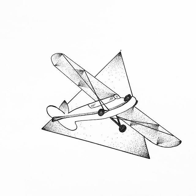 drawing of an airplane airplane tattoo sketch drawing illustration line art airplane an drawing of