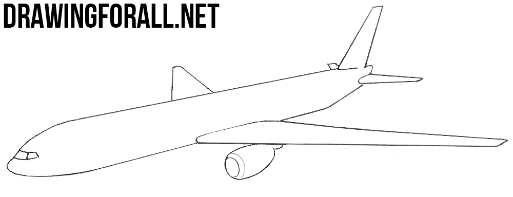 drawing of an airplane how to draw a plane for kids step by step airplanes of drawing airplane an