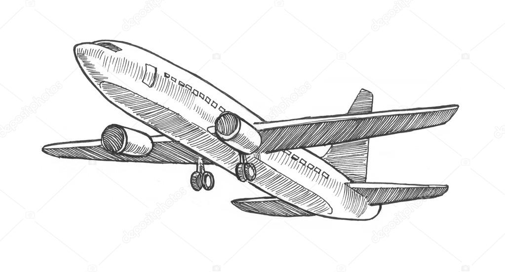 drawing of an airplane how to draw an airplane quick tutorials you can try of drawing an airplane