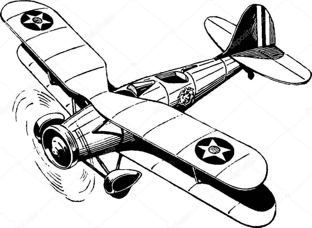 drawing of an airplane vintage airplane drawing at getdrawings free download airplane an drawing of