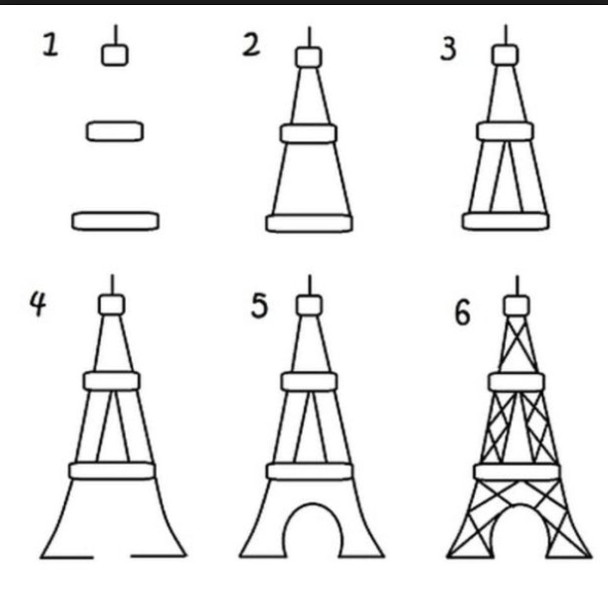 drawing of the eiffel tower drawing of the eiffel tower drawing tower eiffel of the