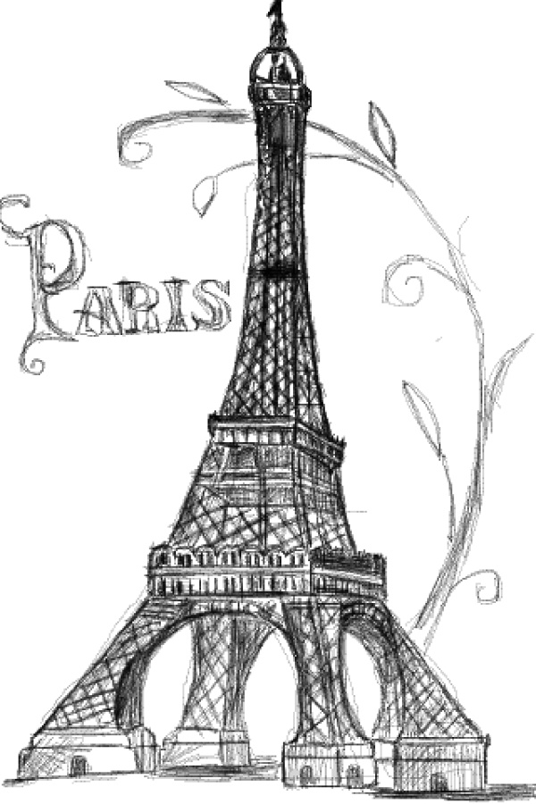 drawing of the eiffel tower eiffel tower drawing clip art eiffel tower png download tower of drawing the eiffel