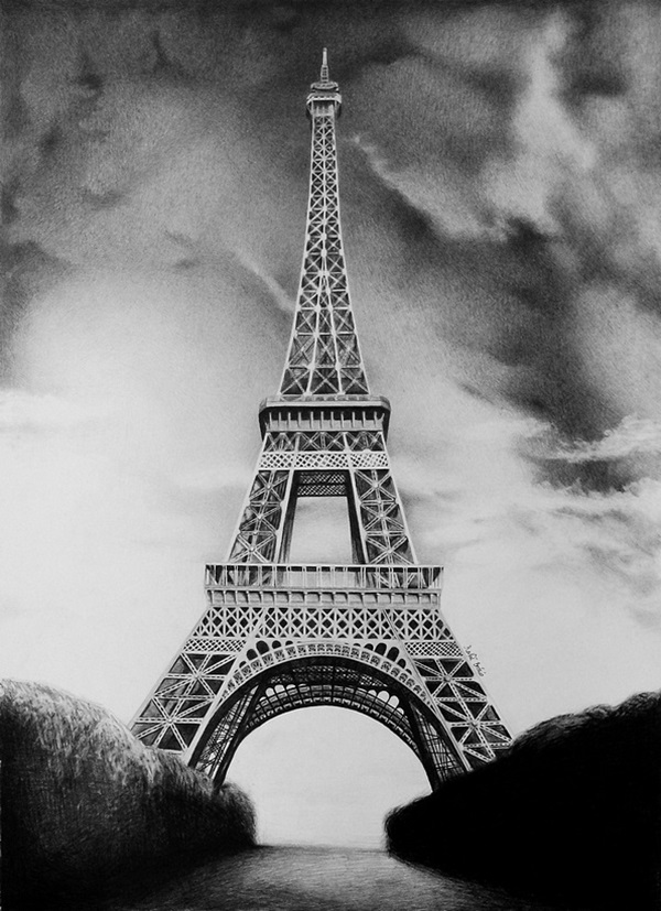 drawing of the eiffel tower eiffel tower drawing free download on clipartmag drawing tower eiffel of the
