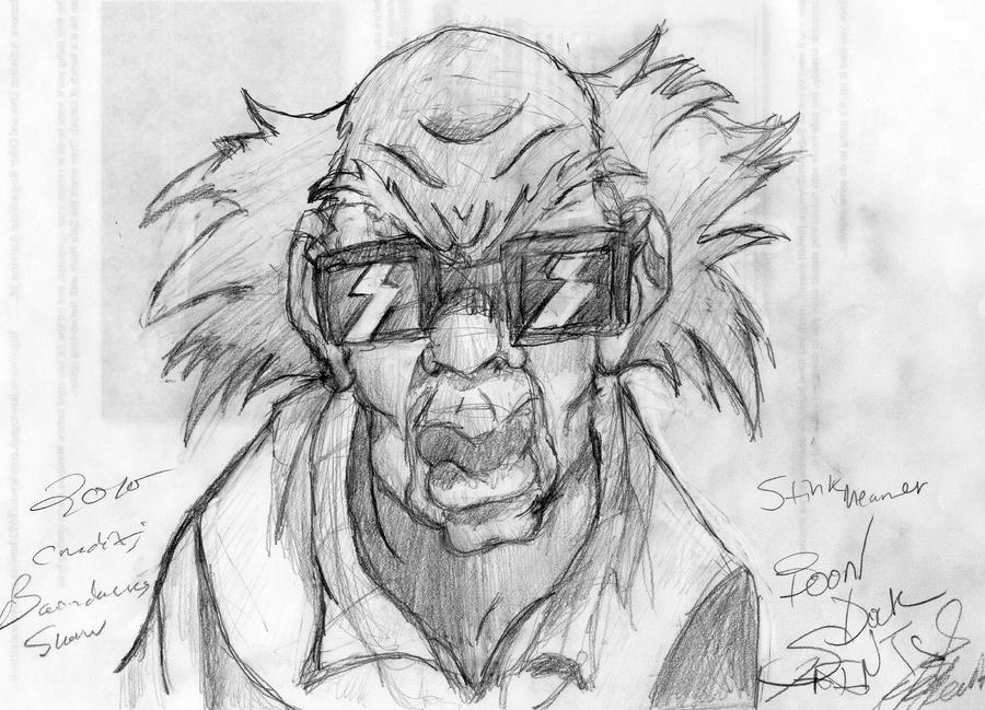 drawings of boondocks characters stinkmeaner the boondocks by andres256 on deviantart characters boondocks of drawings