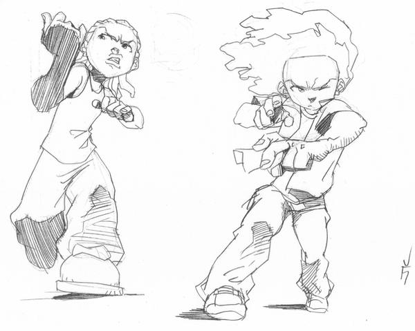 drawings of boondocks characters the boondocks by wolfseye157 on deviantart boondocks drawings characters of