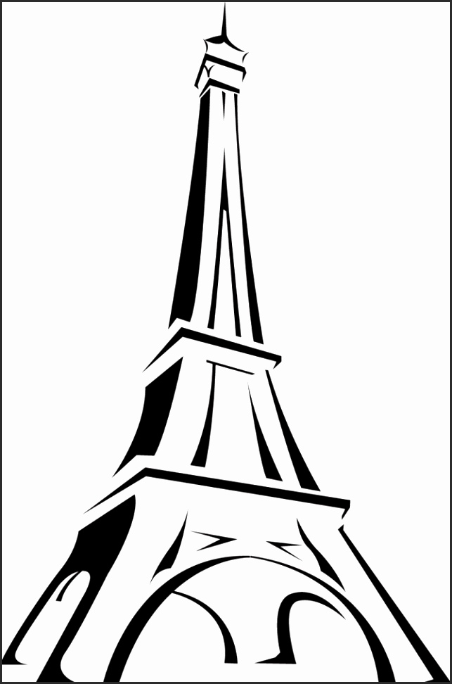 drawings of eiffel tower eiffel tower drawing for kids free download on clipartmag eiffel of drawings tower