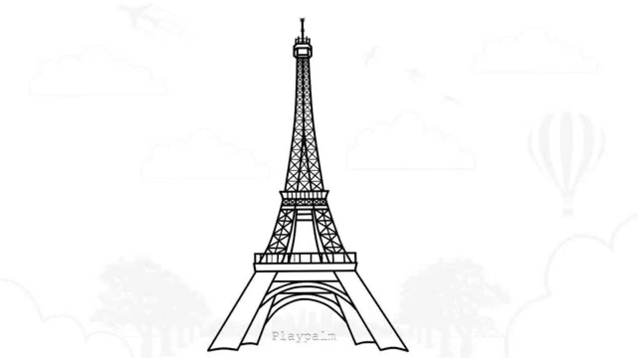 drawings of eiffel tower how to draw the eiffel tower step by step drawing guide of drawings eiffel tower
