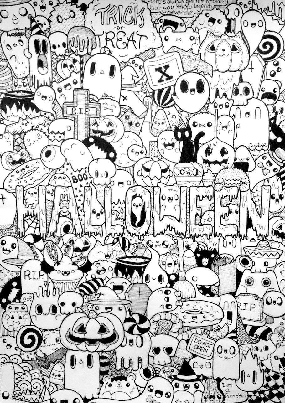 drawings of halloween stuff easy drawing for halloween at getdrawings free download of halloween stuff drawings