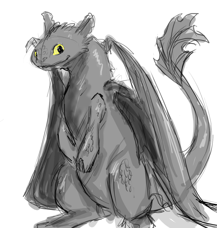 drawings of toothless toothless sketch at paintingvalleycom explore of toothless drawings