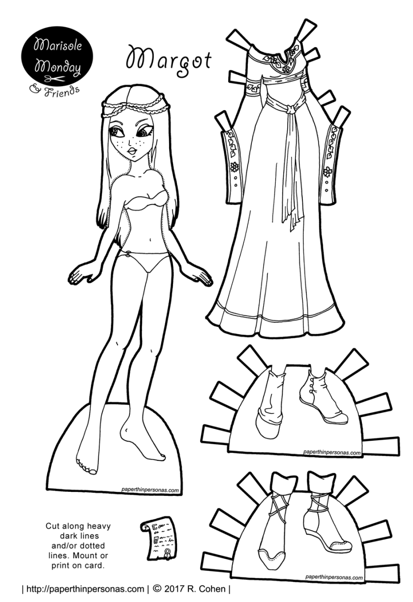 dress up paper dolls medieval inspired archives paper thin personas paper up dress dolls
