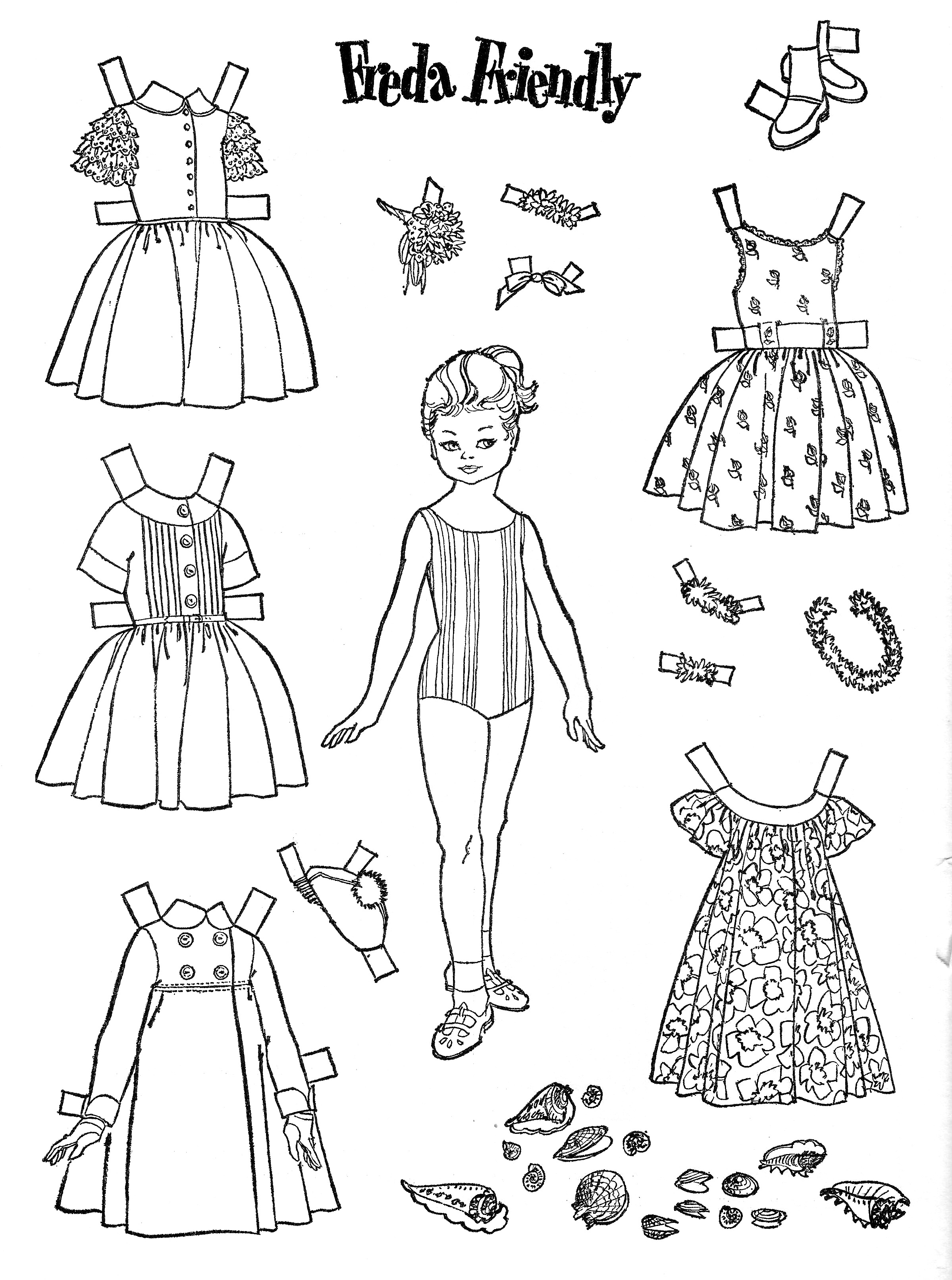 dress up paper dolls tbt the childrens friend may 1962 the gospel home up paper dress dolls