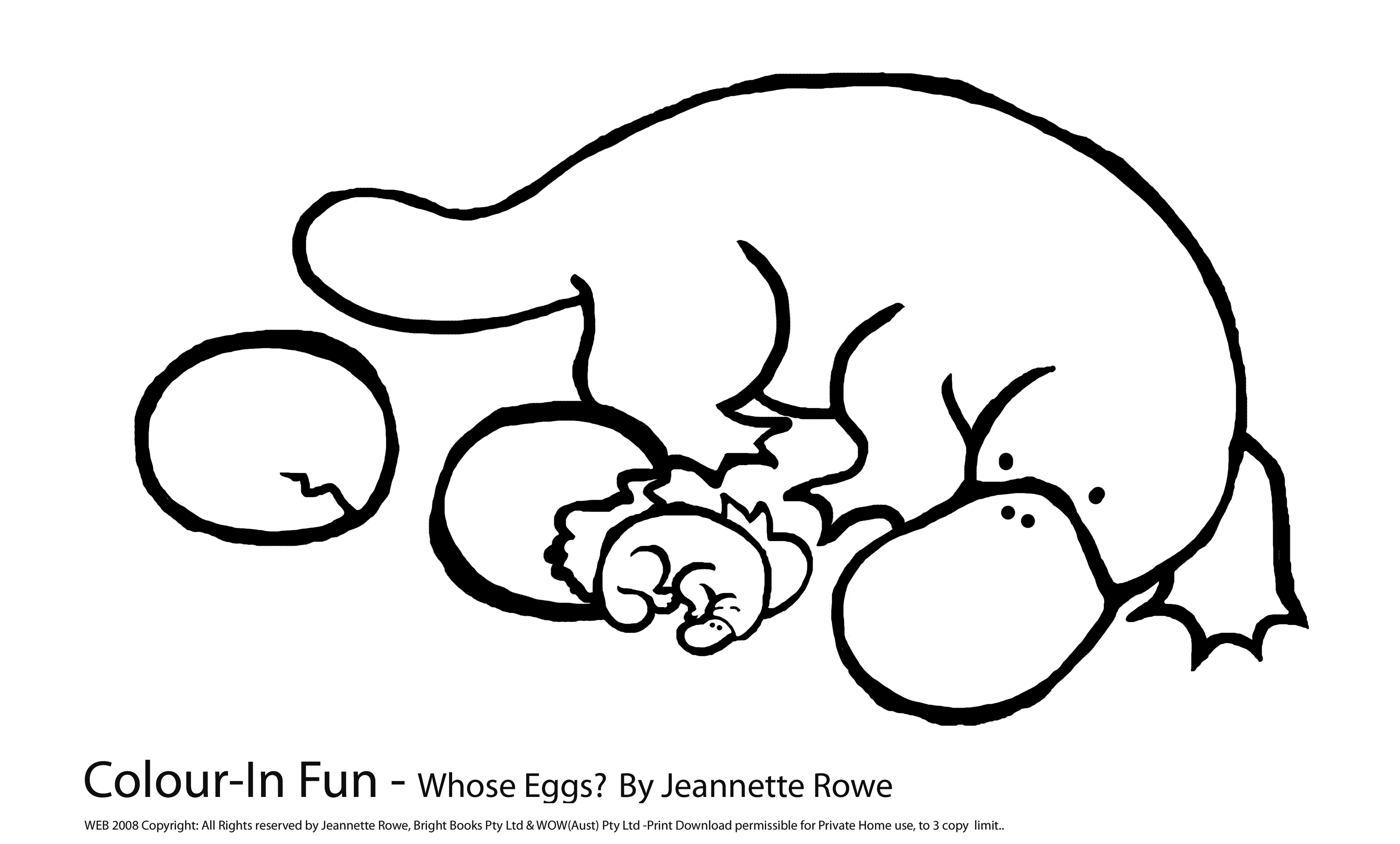 duck billed platypus coloring page australia day an illustration of platypus for australia page platypus coloring billed duck