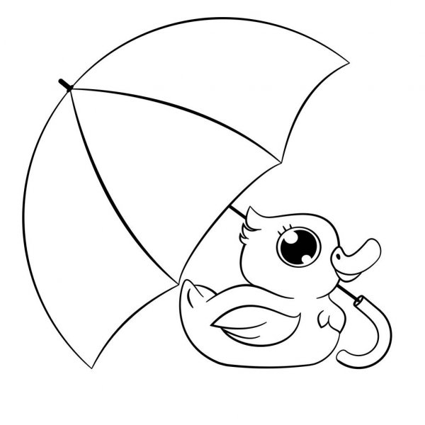 duck with umbrella black and white duck under an umbrella clip art black with duck umbrella