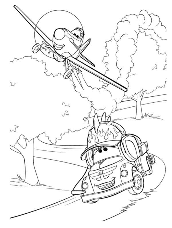 dusty planes coloring pages dusty flying over the corn field in disney planes coloring coloring planes dusty pages