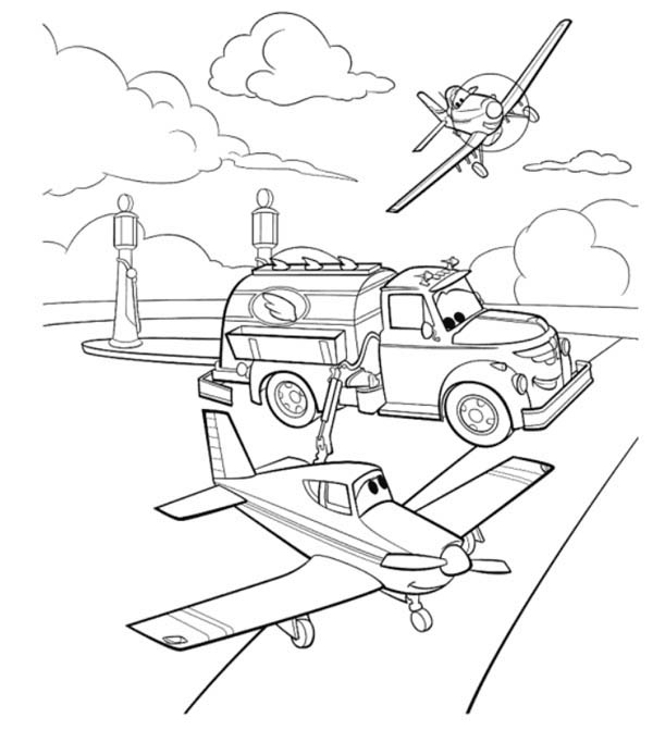 dusty planes coloring pages dusty getting worried before the race in disney planes pages dusty coloring planes