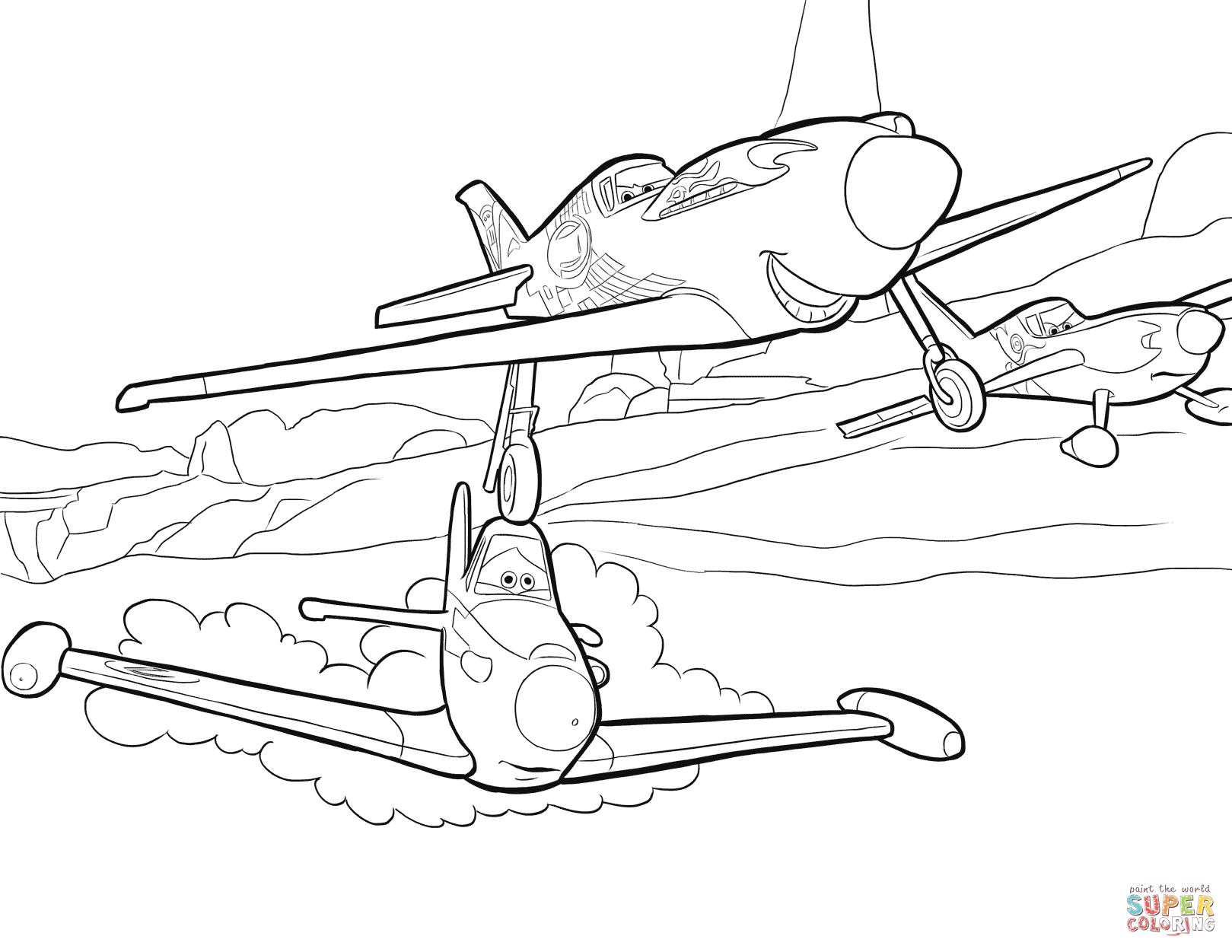 dusty planes coloring pages look dusty is celebrating his victory enjoy this amazing pages dusty planes coloring