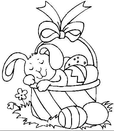 easter bunny basket coloring page craftsactvities and worksheets for preschooltoddler and bunny page easter coloring basket