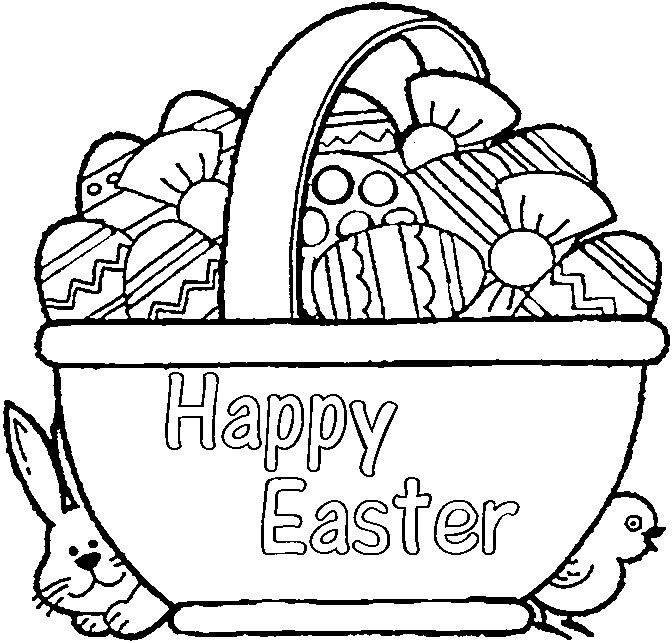 easter bunny basket coloring page easter basket coloring pages free printable easter basket basket easter page bunny coloring