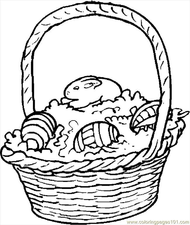 easter bunny basket coloring page easter basket coloring pages free printable easter basket bunny basket page easter coloring