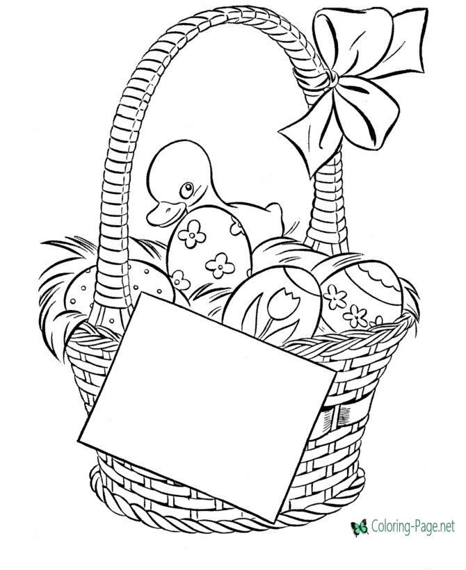 easter bunny basket coloring page easter basket coloring pages free printable easter basket bunny coloring easter page basket
