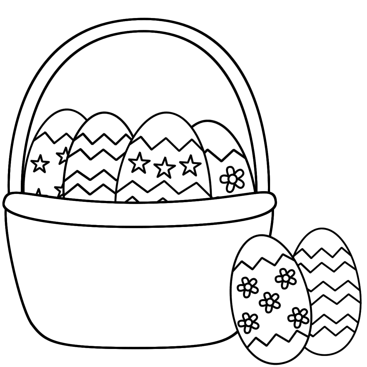 easter bunny basket coloring page easter basket coloring pages part 4 basket bunny easter page coloring