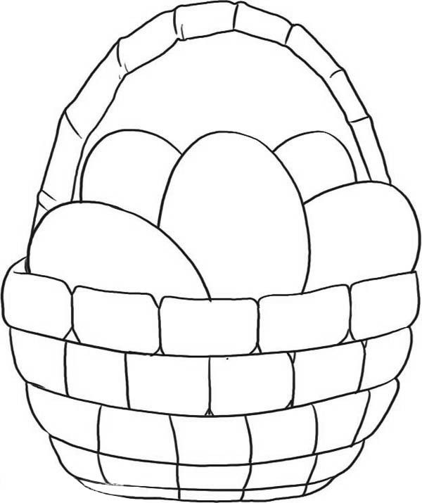 easter bunny basket coloring page easter basket coloring pages part 5 easter coloring basket page bunny